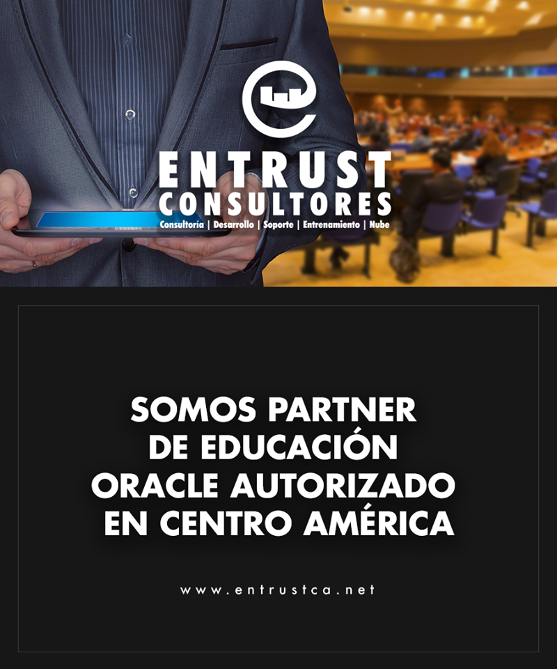 Entrust  #1 Silver Partner Oracle El Salvador, Latam y Miami